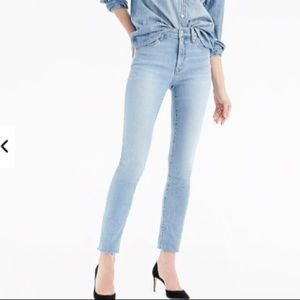 9 inch High Rise Toothpick Jean size 25